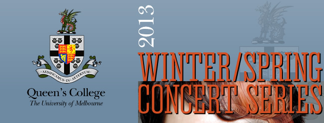 Queen's College - WINTER/SPRING CONCERT SERIES
